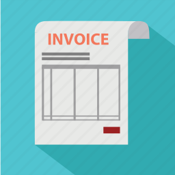 bill, cash, document, dollar, invoice, order, payment icon