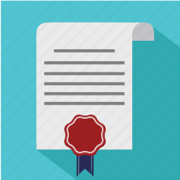 agreement, business, certificate, contract, diplom, document, guarantee icon
