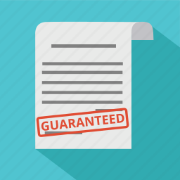 business, finance, guaranted, guarantee, guaranteed, guaranty, warranty icon