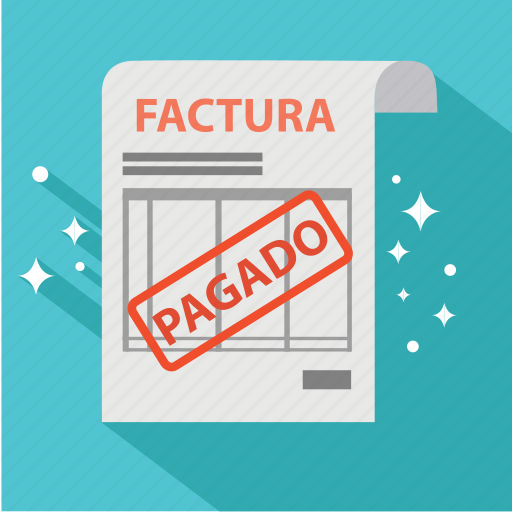 bill, factura, invoice, order, pagado, pago, payment icon