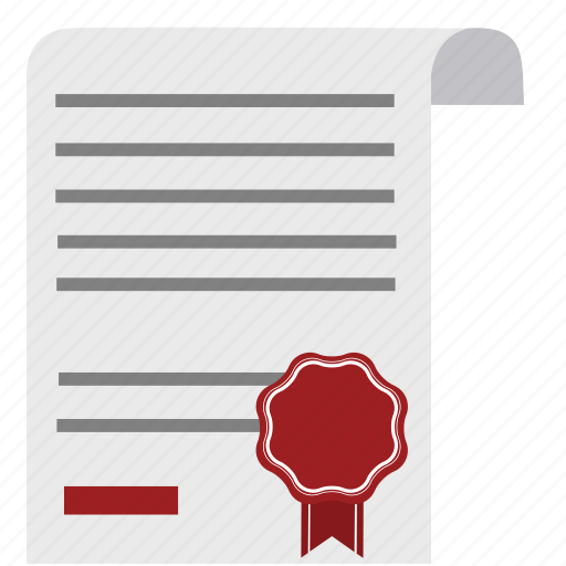 agreement, contract, diploma, document, emblem, guarantee, money icon