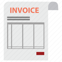 bill, check, check out, invoice, money, order, payment icon