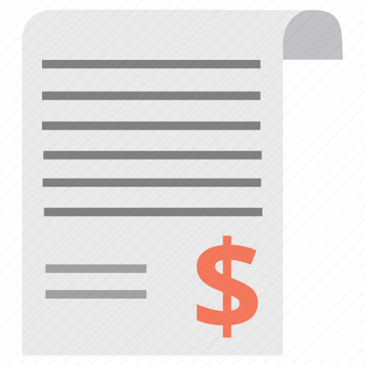 agreement, contract, document, guarantee, invoice, money, sheet icon