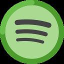 application, music, spotify, audio, multimedia icon