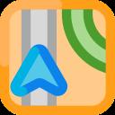 application, maps, navigation, gps, ios icon