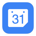 calendar, flurry, google icon