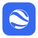 earth, flurry, google icon