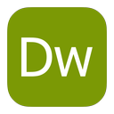 adobe, dreamweaver, metroui icon