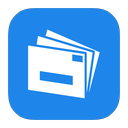 live, mail, metroui icon
