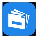mail, metroui, live icon