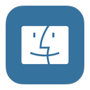 finder, mac, metroui icon