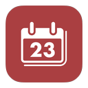 ical, mac, metroui icon