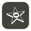 imovie, mac, metroui icon