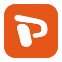 metroui, powerpoint icon