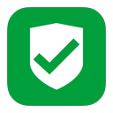 approved, metroui, security icon