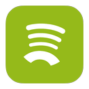 metroui, spotify icon