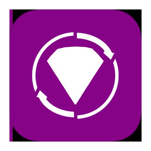 bejeweled, metroui, twist icon