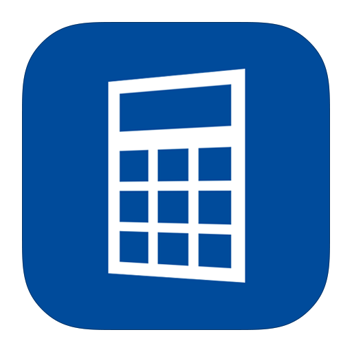 calculator, metroui icon