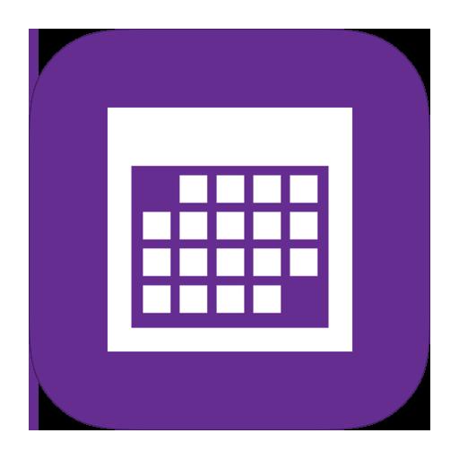 Calendar Icon Ios : Calendar metroui icon