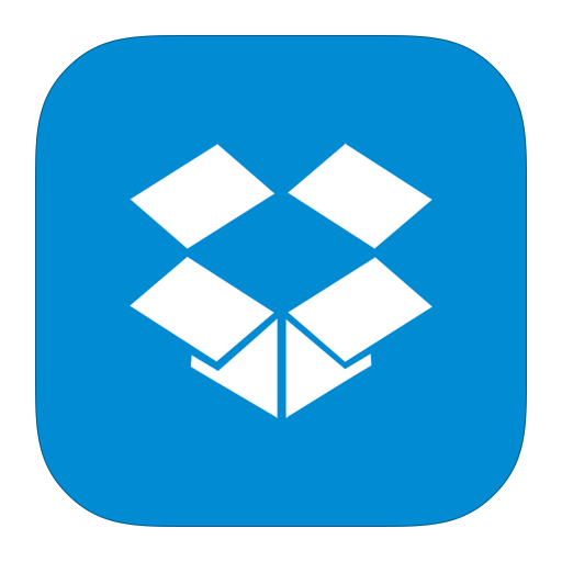 dropbox, metroui icon