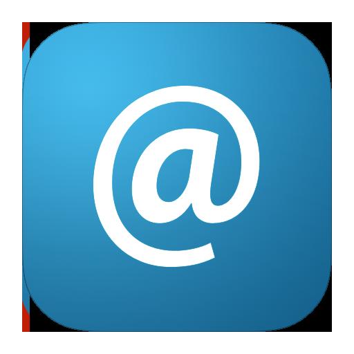 email, metroui icon