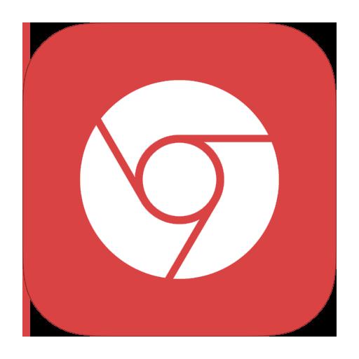 chrome, google, metroui icon