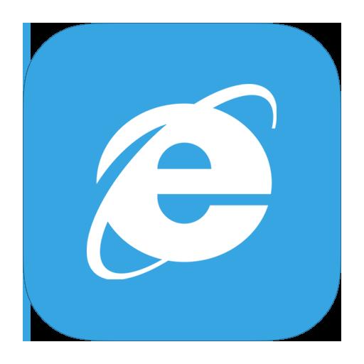 8, explorer, internet, metroui icon