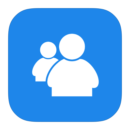 live, messenger, metroui icon