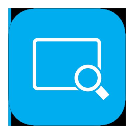 Magnifier, metroui icon - Free download on Iconfinder