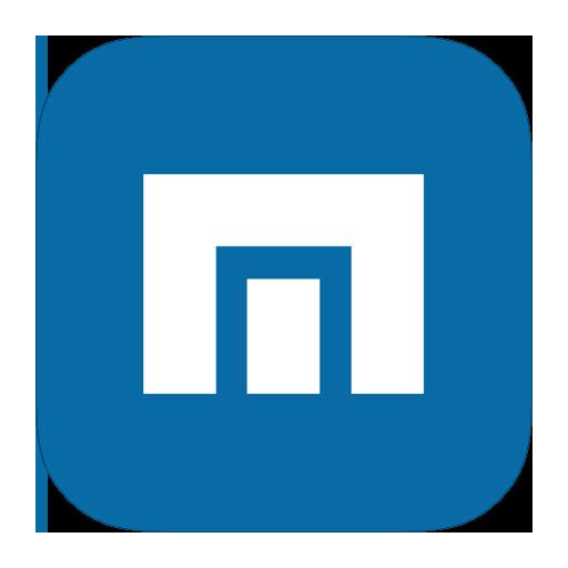 maxthon, metroui icon