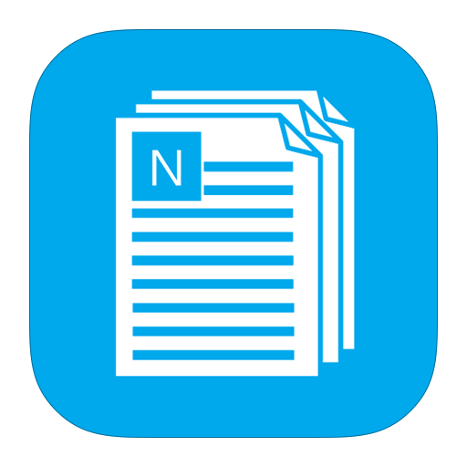 metroui, notepad icon