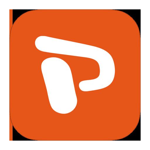 metroui, powerpoint icon