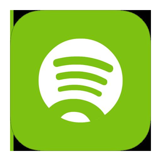 Spotify, metroui icon