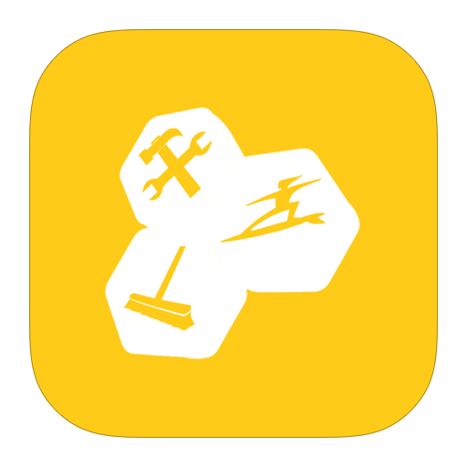 metroui, tune, up, utilities icon