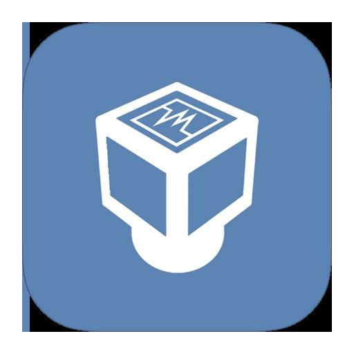 metroui, virtualbox icon