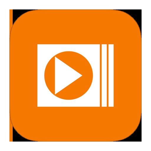mediaplayer, metroui icon