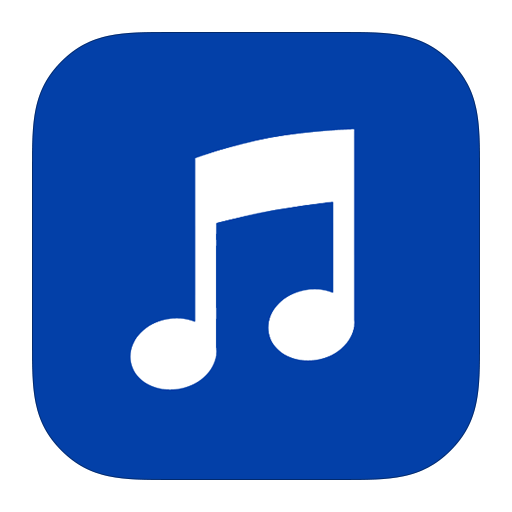 itunes, metroui icon