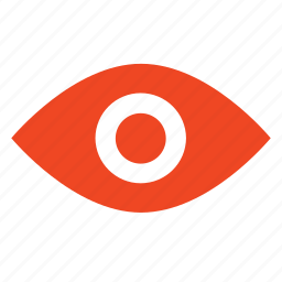 eye, see, view, watch, zoom icon