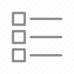 accessory, bullet, element, item list, items, menu, tasks icon
