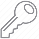 access key, lo, open, password, secret, security, unlock icon