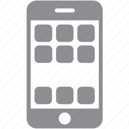 apps, cell phone, cellphone, communication, iphone, mobile phone, smartphone icon