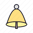 alarm, bell, christmas, nature, santa, time, tree icon