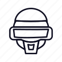 alien, celebration, costume, halloween, mask icon