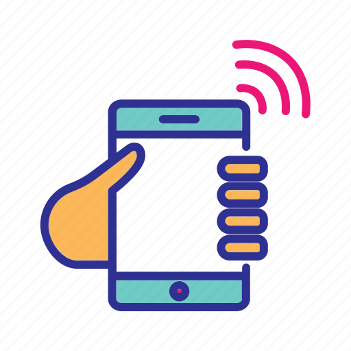 communication, internet, internet of things, mobile hotspot, mobile network, wifi, wireless network icon