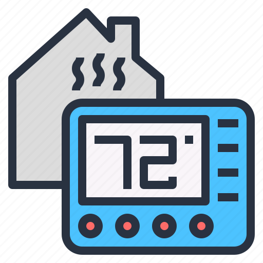 adjust, control, heat, process, temperature icon