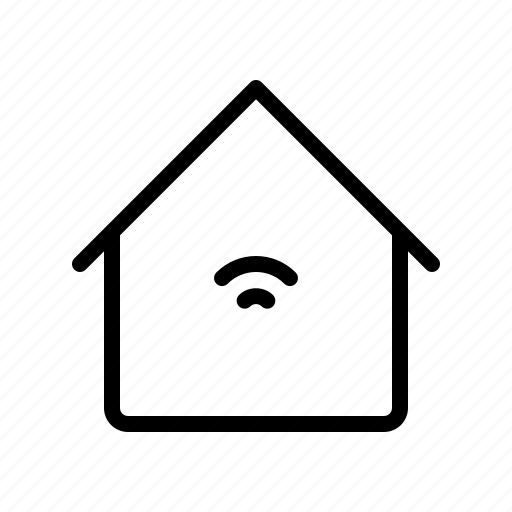 electronics, equipment, home, house, iot, smart, wifi icon