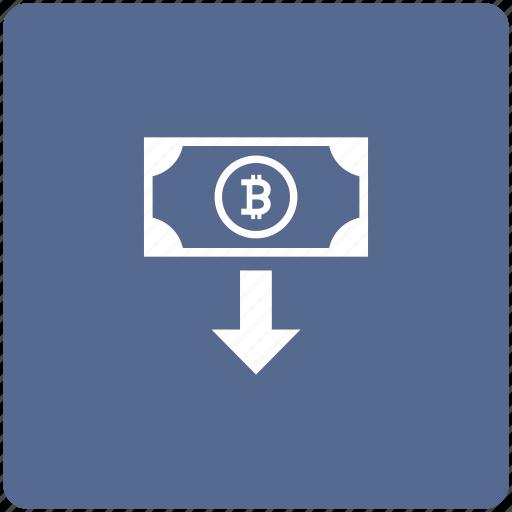 bitcoin, cash, cashout, money, transfer icon