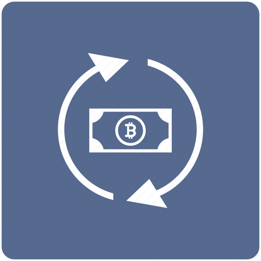 bitcoin, exchange, money, transaction, transfer icon