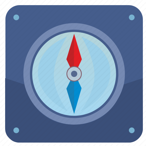 compass, gps, location, place, position icon