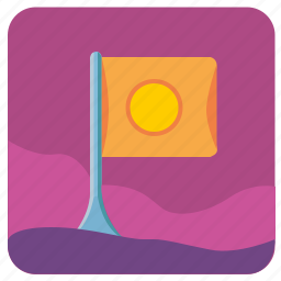 flag, geo, location, nature, place, point icon